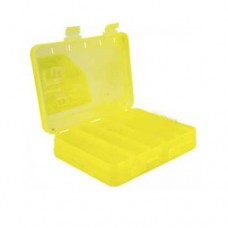 КОРОБКА  для воблеров и балансиров ВБ-3 желтая 2-х стор.(5+5отд.)(200х160х45мм)
