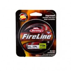 Шнур BERKLEY Fire Line Flaem Green 110m 0.10mm (флуор.-зелёная)
