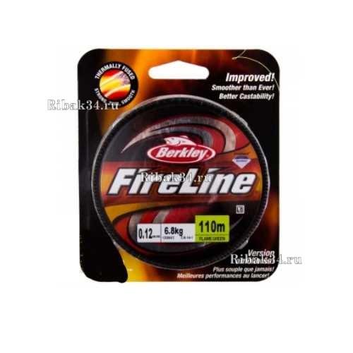 Шнур плетёный Berkley FireLine Micro Ice Smoke 0.10mm 45m 5.9kg Grey 1085674