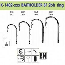 Крючки Gurza-BAITHOLDER BF Ring (2BH) BN №2/0 (9шт/уп)