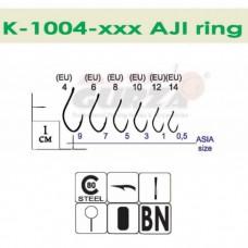 Крючки Gurza - AJI Ring BN #10 10 шт/уп.