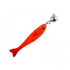 Рыбка порол.неперф.5,5см  8 гр.цвет 8 (уп.5 шт)