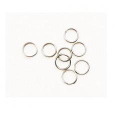 Кольцо заводное d. 8 Три Кита (уп.1000шт)176гр