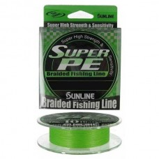 Плетенный шнур SUNLINE SUPER PE 10Ib 0.165mm 150m 5kg Light Green