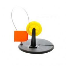 ЖЕРЛИЦА  с прямой стойкой  с жёлтой катушкой