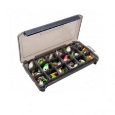 КОРОБКА  для приманок КДП-1 дымка (190*100*30мм)