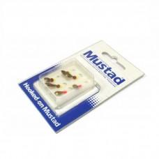 Мормышка  MUSTAD тяж. квадратный набор  (уп/6шт)