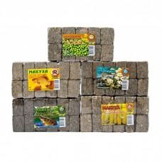 МАКУХА - блок подсолнечника с добавкой кукурузы 30% 350гр.(уп/10шт)