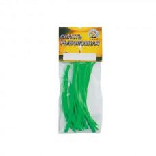 *КЕМБРИК  d.0,8*1,5 флюоресц.  зелёный (уп.20шт*10см)