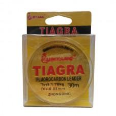 Леска TIAGRA FLUOROCARBON 0,10 30м