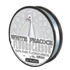 Леска FLUOROCORBON White Peacock 100м 0,20