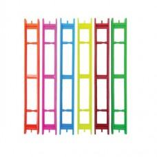 МОТОВИЛО 1-рядное флюорисц. (для удочки)(250*23мм)(уп/10)