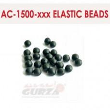 Аксессуары Gurza - ELASTIC BEADS 1,2 х 8 мм 10 шт/уп. (коричневые)