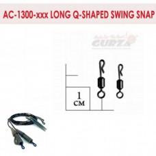 Аксессуары Gurza-Long Q-shaped Swing Snap № 7 (10шт/уп)