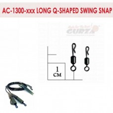Аксессуары Gurza - Long Q-shaped Swing Snap #4 10 шт./уп.