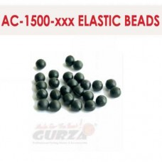 Аксессуары Gurza - ELASTIC BEADS 1,2 х 6 мм  10 шт/уп. (коричневые)